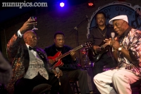BB King, George Benson Jimmy Johnson and Buddy Guy March 22 2012 Legends