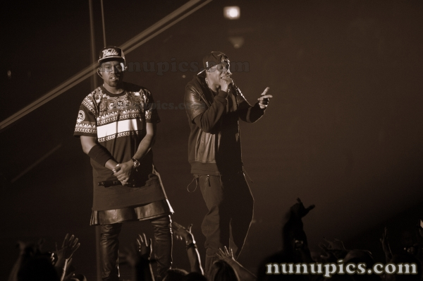 Watch The Throne Tour Dec 1 2011 Jay Z & Kenye West United Center Chicago